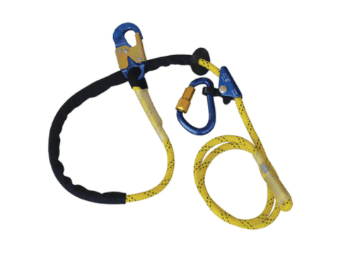 DBI SALA 1234071 Pole Climber's Adjustable Rope Positioning 8' Lanyard