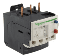 Schneider, Electric Overload Relay - 1NO/1NC, 4 -- 6 A F.L.C, 6 A Contact Rating, 3P