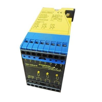 Turck, MS1-33EX0-R, Isolating switching amplifier