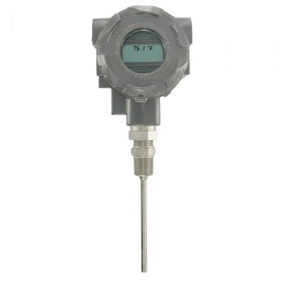 "Dwyer Instruments, TTE-104-W, Explosion-proof RTD temp transmitter, 4"" probe"