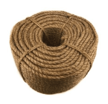 Manila Rope Size : 10 mm. x 200 mtr